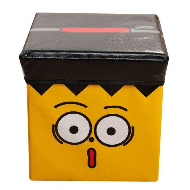 Hips Non Woven Fabric Toy Storage Box Bins Children Organizer Home Clothes Case