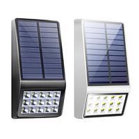 15LED Solar Motion Sensor de Luz de Parede Ao Ar Livre À Prova D' Água Jardim Luz Da Lâmpada de Rua|Luminárias de parede externas| |  -