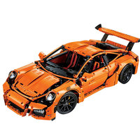LEPIN 20001 Technic Series Compatible Legoed Race Car Model 42056 Building Kits Blocks Bricks Boys Gifts