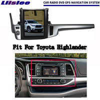 Android 2G RAM For Toyota Highlander 2014 2017 Car Radio Audio Video Multimedia DVD Player WIFI