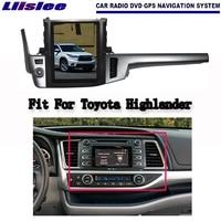 Android 2G di RAM Per Toyota Highlander 2014 ~ 2017 Auto Radio Audio Video Multimedia DVD Player WIFI GPS Navi navigazione