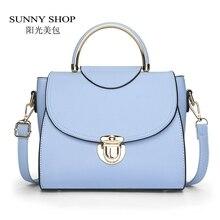 SUNNY SHOP Neue Süßigkeit-farben-frauen Fashion Schultertasche Lady Messenger Bags Marke Designer Crossbody Tasche Pu-leder Handtaschen