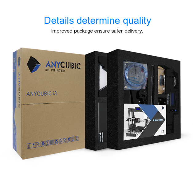 Anycubic 3D printer impresora 3d Newest Upgrade imprimante 3d Prusa i3 3d printer Kit High Precision Ultrabase Platfrom (11)