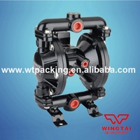 0 7Mpa High Pressure 35L Min Ink Oil Glue Chemical Air Operated Double Diaphragm Pump
