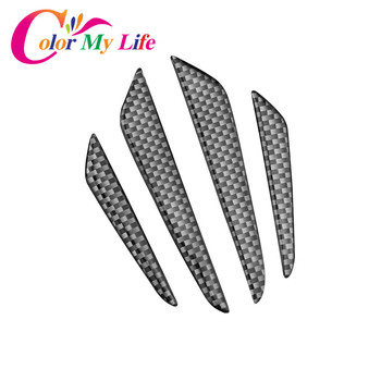 Color My Life Car Door Scuff Sticker Bumper Strip for Renault Koleos Fluenec Latitude Kadjar Captur Talisman Megane Sandero Cars image