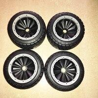 Закрытые колеса сильный сцепление road tire для 1:5 Hpi Baja LOSI DBXL 2 спереди и сзади