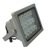 White light LED illuminator outdoor waterproof night vision Surveillance system CCTV IP Camera15 Array LED Viewing range100-150M