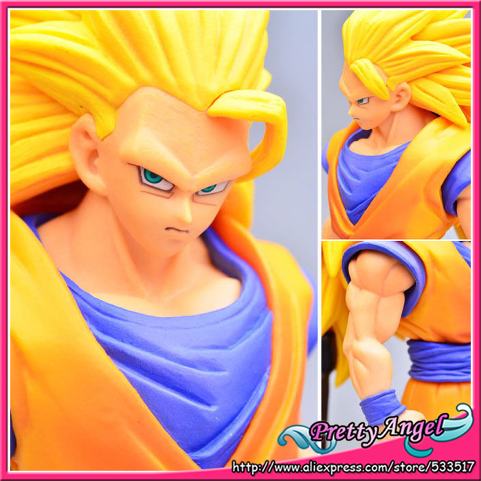 где купить  * Japanese Anime Dragon Ball Z/Kai Original Banpresto Dragon Ball KAI DXF Heroes Super Saiyan 3 Son Goku Gokou Figure  по лучшей цене