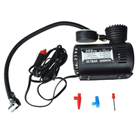 Promotion 12v Car Auto Electric Pump Air Compressor Portable Tire Inflator 300ps
