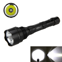 2500Lm XML T6 LED Tactical Flashlight Torch Light +2x4000mAh Battery+Dual Charger+Pressure Switch+ Mount