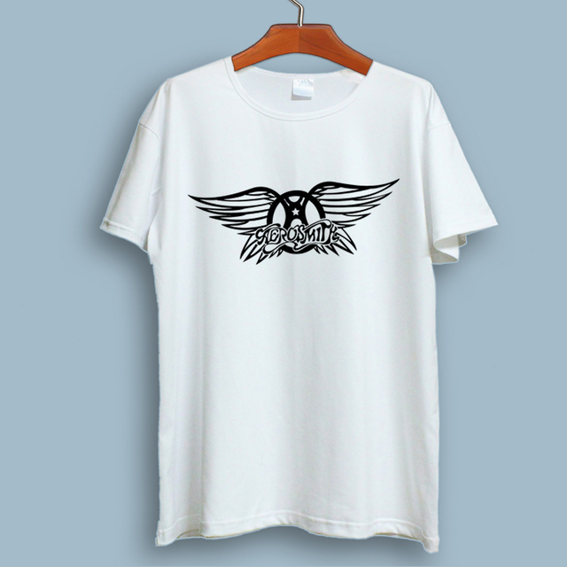 5c2da4c8822 Plus Size M-XXXL Aerosmith T Shirt New Summer Style Men Rock Band T shirts  Men Short Sleeve Modal Rock Roll T-shirts T284