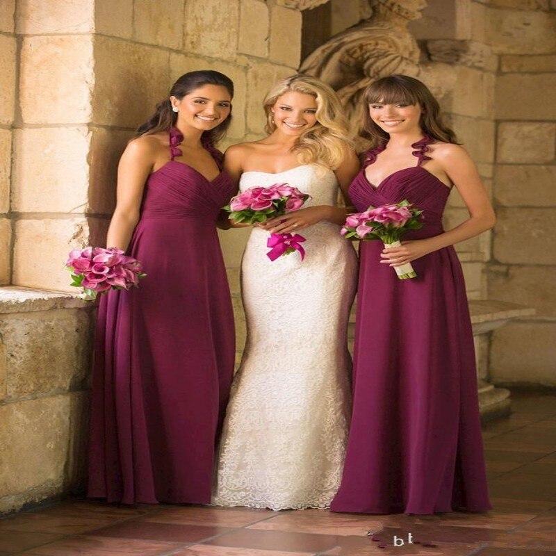 Online Get Cheap Burgundy Bridesmaid Dresses Cheap -Aliexpress.com ...