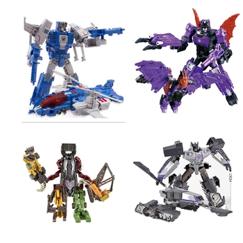 lensple transformation ko mp41 beast wars grimlock dinobot robots collection action figure Lensple Transformation Metal Part Highbrow Skullcruncher Brainstorm Deformation Alloy Oversize Action Figure Model Toy Kids Gift
