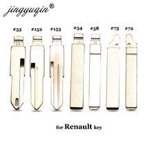 Полотно дистанционного ключа jingyuqin #53 #54 #58 #72 #73 #152 #153 для Lada Renault Megan Dacia Clio Duster KD VAC102 VA2 HU83