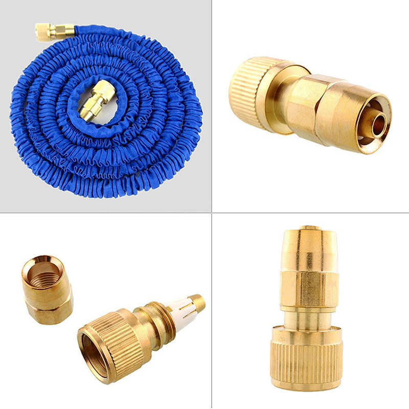 Ezlife brass lawn garden water tube pipe fitting tap