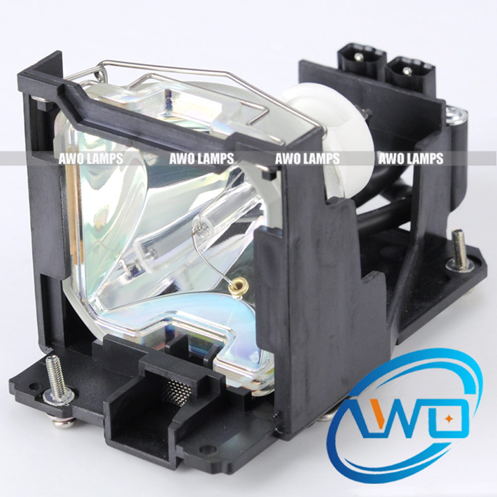 AWO ET-LA701 Replacement Projector Lamp with Housing for PANASONIC PT-L711U / PT-L701U / PT-L511U / PT-L501U / PT-L701E original et lal500 projector lamp with housing for panasonic pt lw280 pt lw330 pt tw250 pt tw340 pt tw341