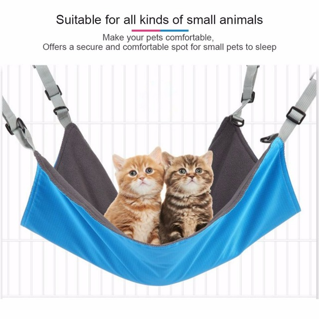 reversible 2 sides pet cat cage hammock bed mat for small pet dog soft sleepy pad reversible 2 sides pet cat cage hammock bed mat for small pet dog      rh   aliexpress