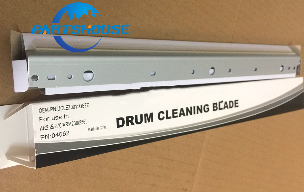 10Pcs Drum Cleaning Blade UCLEZ0011QSZZ for Sharp AR256 AR316 ARM258 ARM317 ARM318 256 316 258 318 Copier parts wiper blade