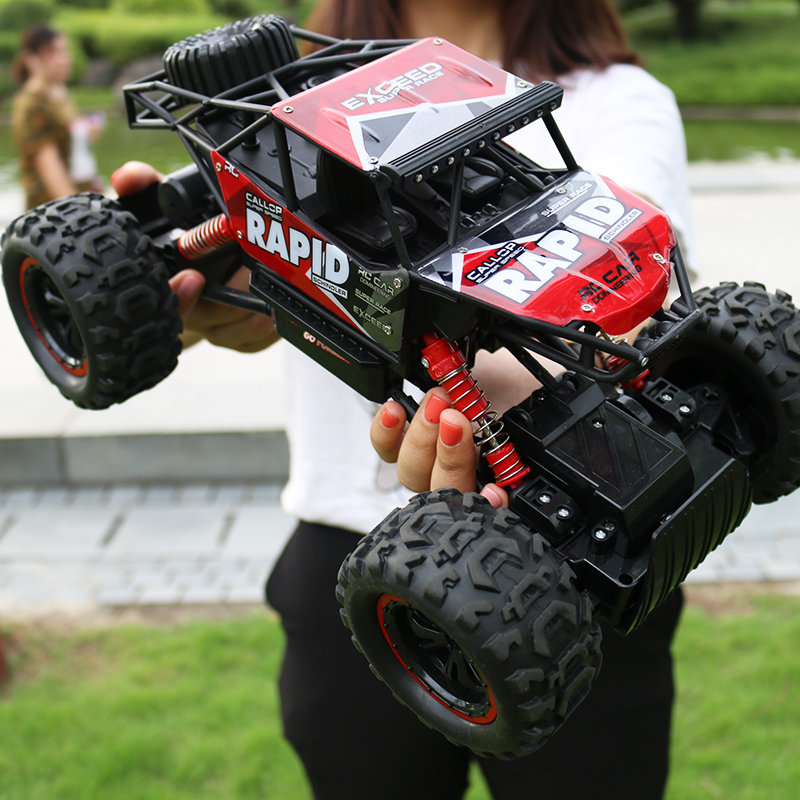 RC Car 4WD Remote Control High Speed Vehicle 2.4Ghz Machine on the Remote Control Car Monster Truck Buggy Off-Road Toys Kids new 7 2v 16v 320a high voltage esc brushed speed controller rc car truck buggy boat hot selling