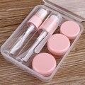 1 conjunto de Viagem Perfume Atomizador Plástico Transparente Pequeno MIni Spray Recarregáveis Garrafa Vazia Maquiagem E Cuidados Com A Pele WA826 P0