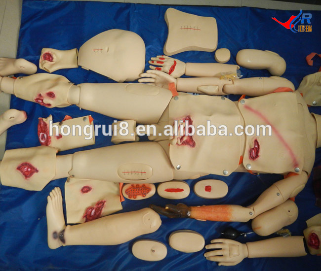 Advanced Trauma Simulator, Wound Care and Nursing Manikin economic basic patient care manikin female nursing manikin nursing mannequin