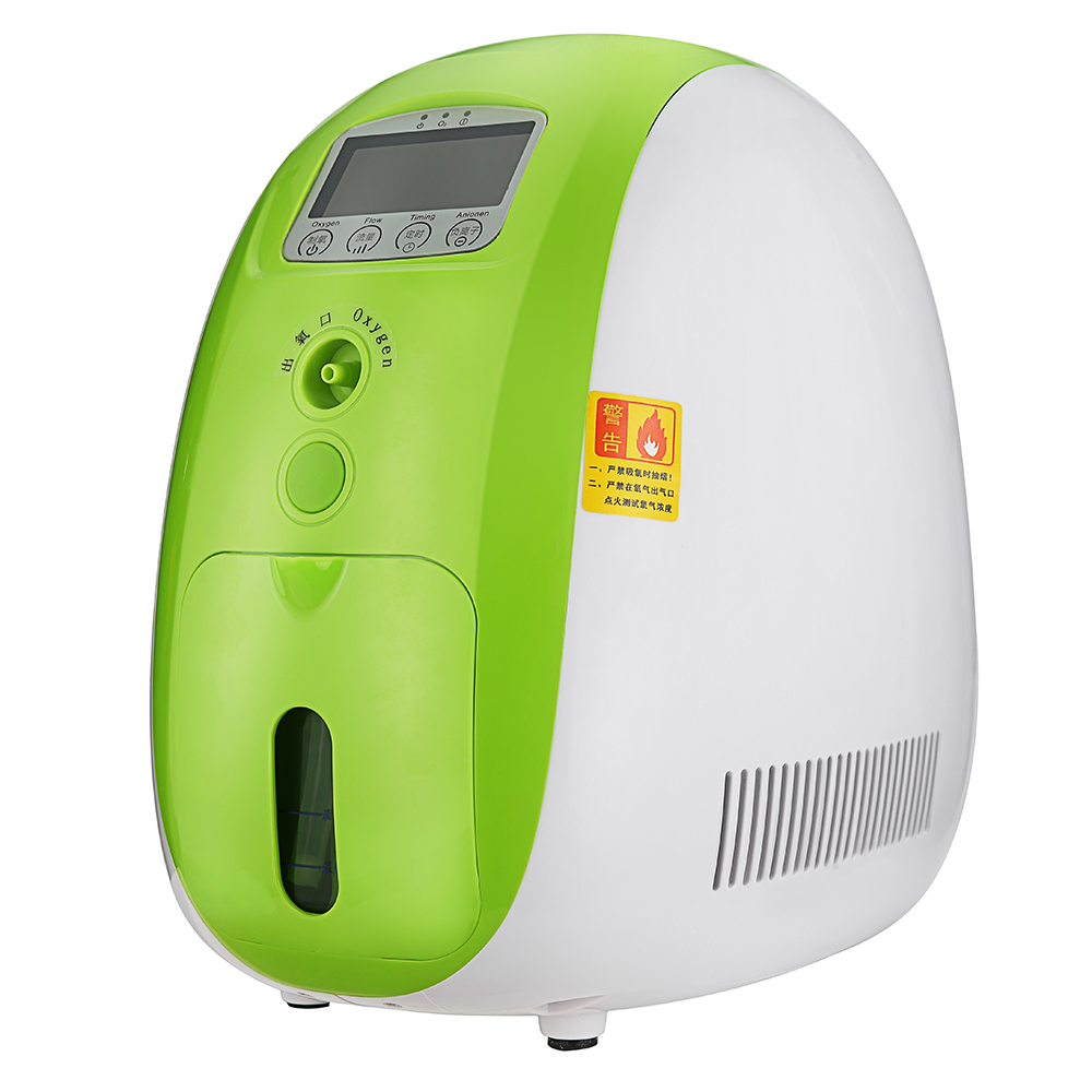 1l Portable Full Intelligent Home Oxygen Concentrator Generator Work