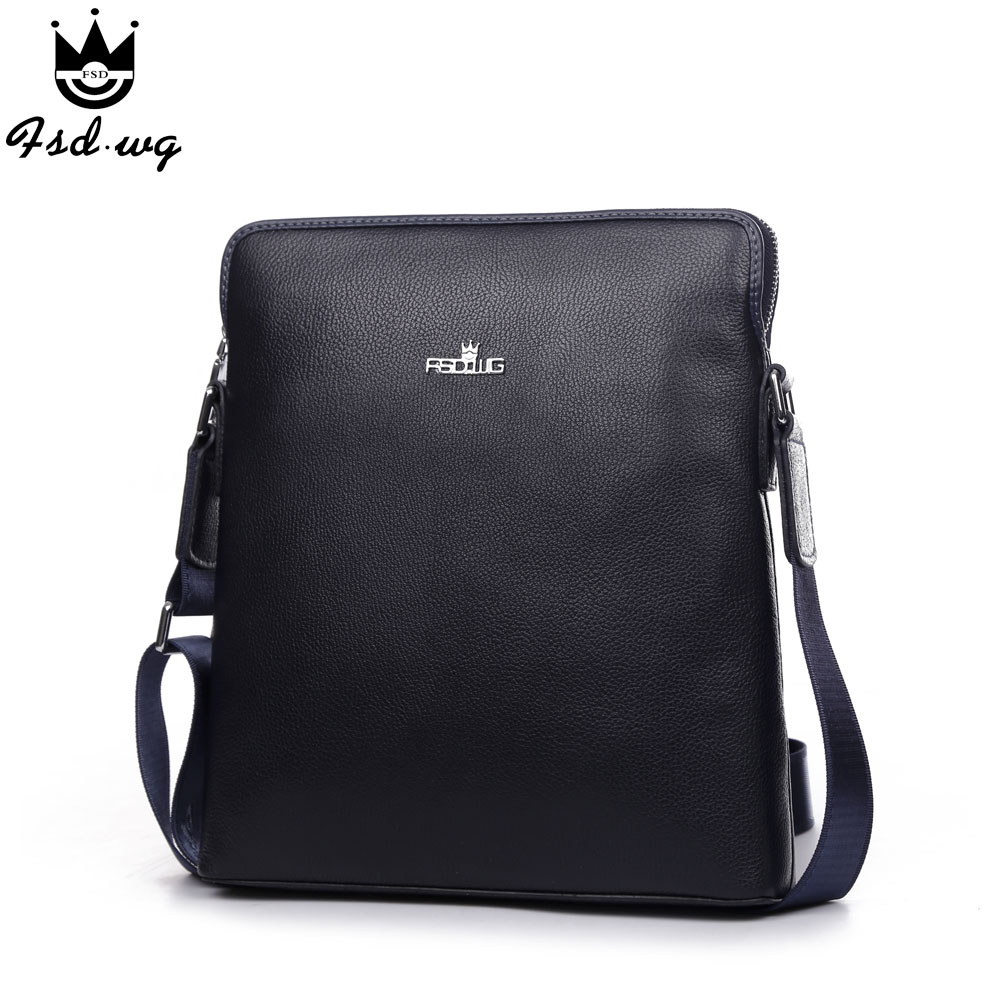 New shoulder bags genuine leather bolsas famous brand design mens business men's crossbody bag men Satchels bolsos wholesale