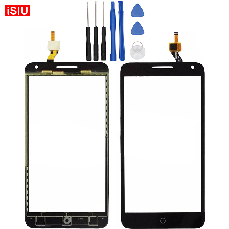 5.5 inch For Alcatel One Touch Pop 3 OT5025 / 5025D / 5025 / OT-5025 LCD Pop3 Touch Screen Lens Glass Outer Front Panel + Tools