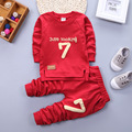 2016 Spring Autumn 1-4Y Children Girl Clothing Set Baby Boy Sports Digital Suit Toddler Babies Clothes Set Outfits Tracksuit