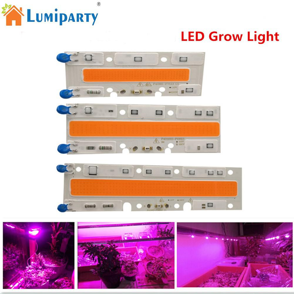 LumiParty 110V 220V COB Full Spectrum 30W 50W 70W Plant Grow Light for Indoor Hydroponic ...