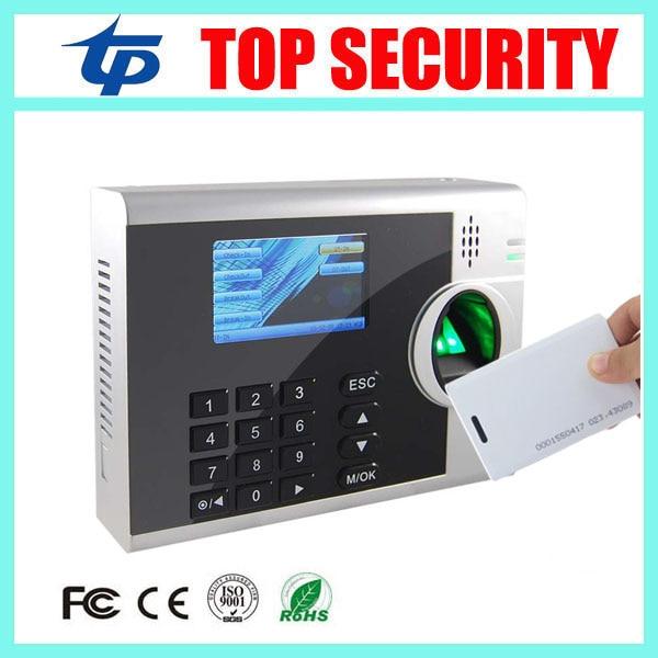 3inch color screen linux system fingerprint and RFID card EM card time attendance clock recorder TCP/IP fingerprint reader