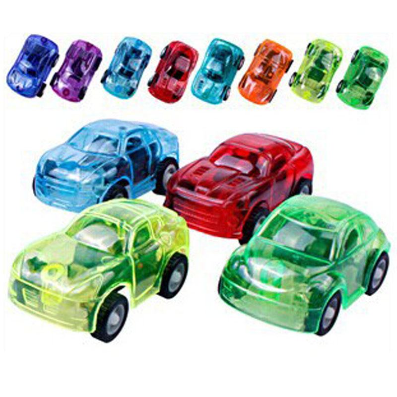 The New Transparent Car Model Toys Children Inertia Car Toys