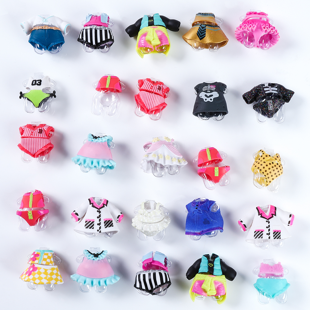 1Pc Original Beautiful <font><b>Doll</b></font> Clothes For DIY <font><b>LoL</b></font> Big <font><b>Doll</b></font> Figure Toy Accessories Toy Decorations Products Random Ship image