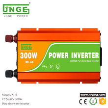 Big Promotion JNGE Power Off Grid Pure Sine Wave Inverter 300W 12V 24V 110V 220V Solar Power Inverter p1000 242 24v 220v off grid inverter 1kw pure sine wave micro inverter solar