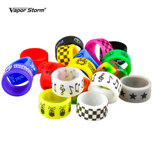 Ring Vape-Band-Ring Silicone Mechanical-Mods for 22mm DIY Cover Rubber Non-Skid 5-10pcs/Lot