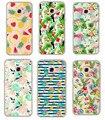 2017 новый Живописи Прозрачный ясности Tpu Case Cover for Samsung Galaxy A3 2017 A320F A5 2017 A520F A7 2017 A720F телефон fundas