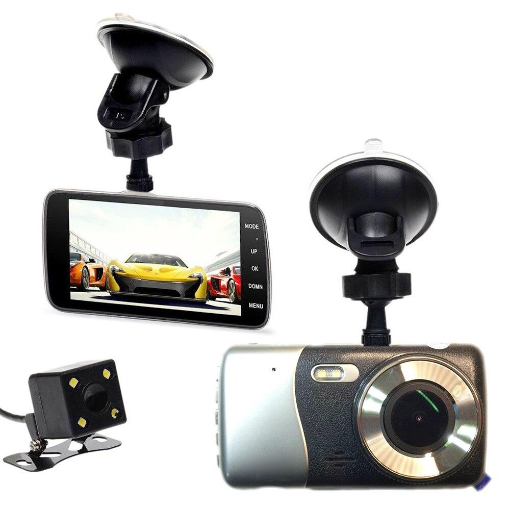 imágenes para ADDKEY Original dvr Coche DVR de 4.0 Pulgadas de Pantalla IPS LDWS ADAS Cámara de la Rociada del coche Cámara Full HD 1080 P de Vídeo de 160 Grados dash cam