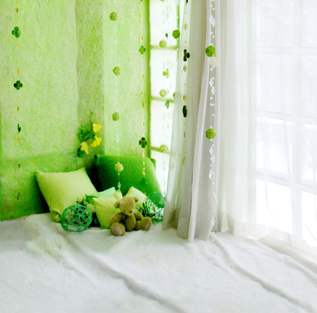 8x8ft Green Wall Light Color Bedroom Pillows Curtain Window Baby Kids Custom Photo Studio Background Backdrop
