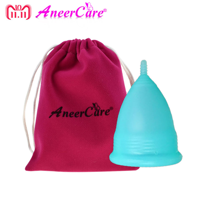100% Medical Grade Silicone Aneercare Menstrual Cup Copa Menstrual Copa Menstrual De Silicona Medica Feminine Hygiene все цены