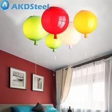 Фотография AKDSteel Modern E27 LED Balloon Bedroom Ceiling Light Warm New Year Chritmas Decoration for Home Energy Saving  Fashion zk30