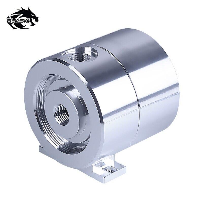 Bykski DDC Pump DC12V TDP10W / Maximum 5000rpm / Qdistance 4 Meters / 600L/H Metal Cover Radiator Diameter 71mm * Height 70mm