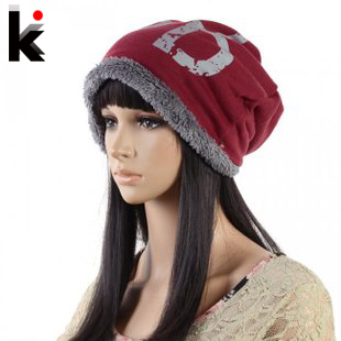 Free Shopping fashion winter hats for women and men Skullies beanies High Quality Knitting Wool cap Girl Warm Winter Hat hat winter thick stickers letter knitted hat wool hat korean embroidery warm hats tide men and women