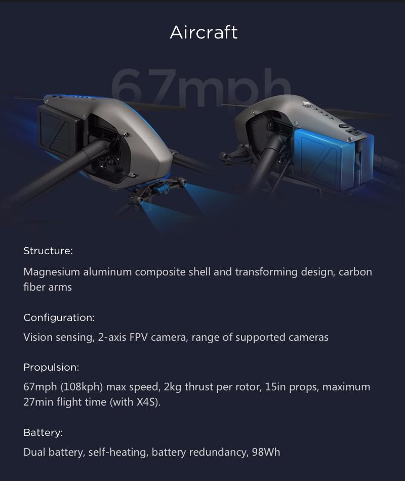 DJI Inspire 2 drone RC Quadcopter