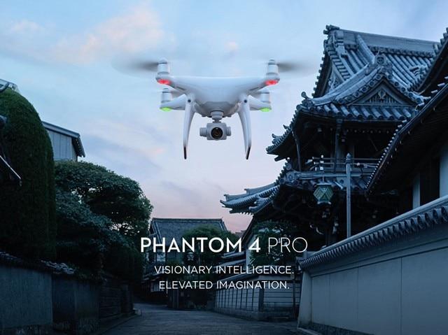 Dji phantom 4 pro con $ number pulgada de 20mp sensor exmor r cmos mayor Tiempo de Vuelo Más Inteligentes Características phantom Quadcopter RC en stock 4 pro