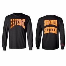 5b2952d1abb Summer Sixteen Tops Tee Men Tour Revenge Long Sleeve T-Shirt Revenge Shirts  Drake Tops
