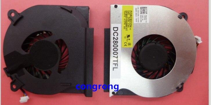 Охлаждающий вентилятор для ноутбука DELL Latitude E6400 E6410 E6510 FX128 DC5V - DFS531005MC0T CFM, DC280007TFL, P/N: 04H1RR