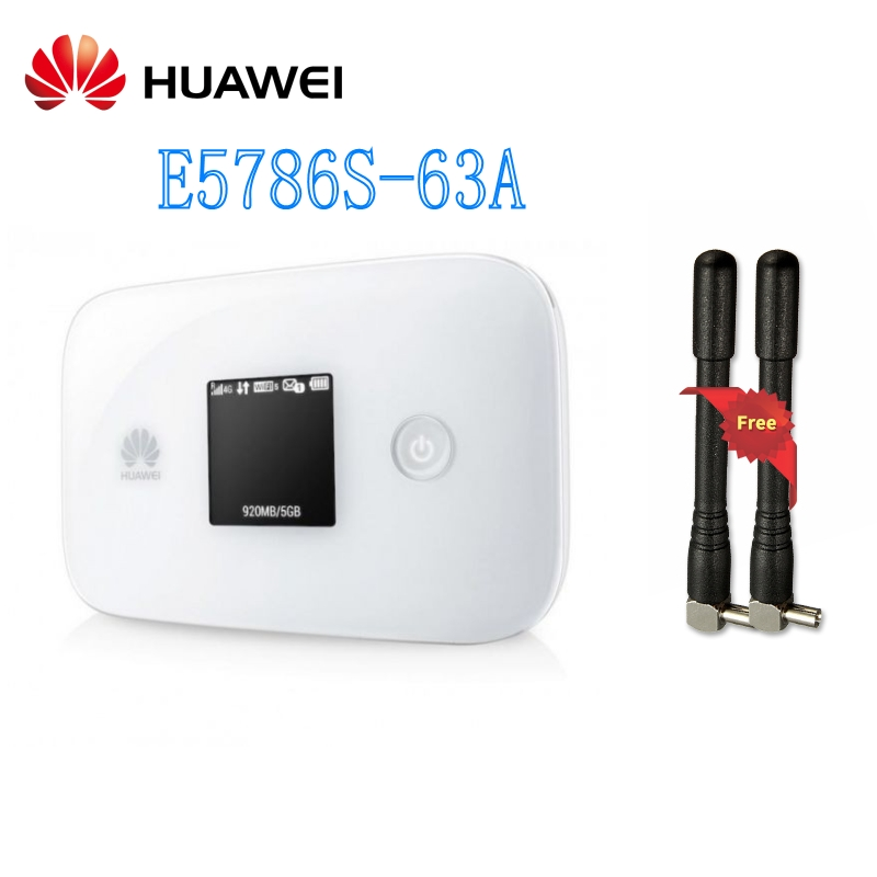 Unlocked Original HUAWEI E5786 E5786s-63a 300Mbps CAT6 4G LTE Portable Wireless Router With AntennUnlocked Original HUAWEI E5786 E5786s-63a 300Mbps CAT6 4G LTE Portable Wireless Router With Antenn