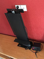 Motorized TV Lift Mechanism Stand with Control