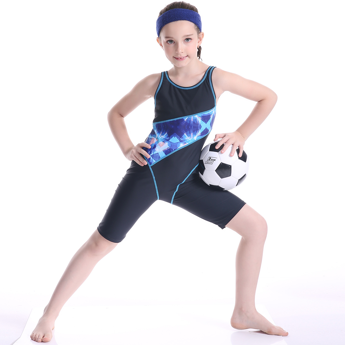 Girls Swimwear One Piece Swimsuit Children Professional Sports Swimwear Bodysuit Beachwear Baby Swim Surf Suits Bathing Suit