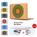 Paisley Mandala Bolso de la Computadora Portátil Para Apple Mac Macbook Pro 15 Para El Macbook de 12 Pulgadas Caso + Cubierta Del Teclado Del Silicón A1502